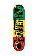 Zero Skateboards Zero Deck Tommy Sandoval Rasta Punk (8.25)