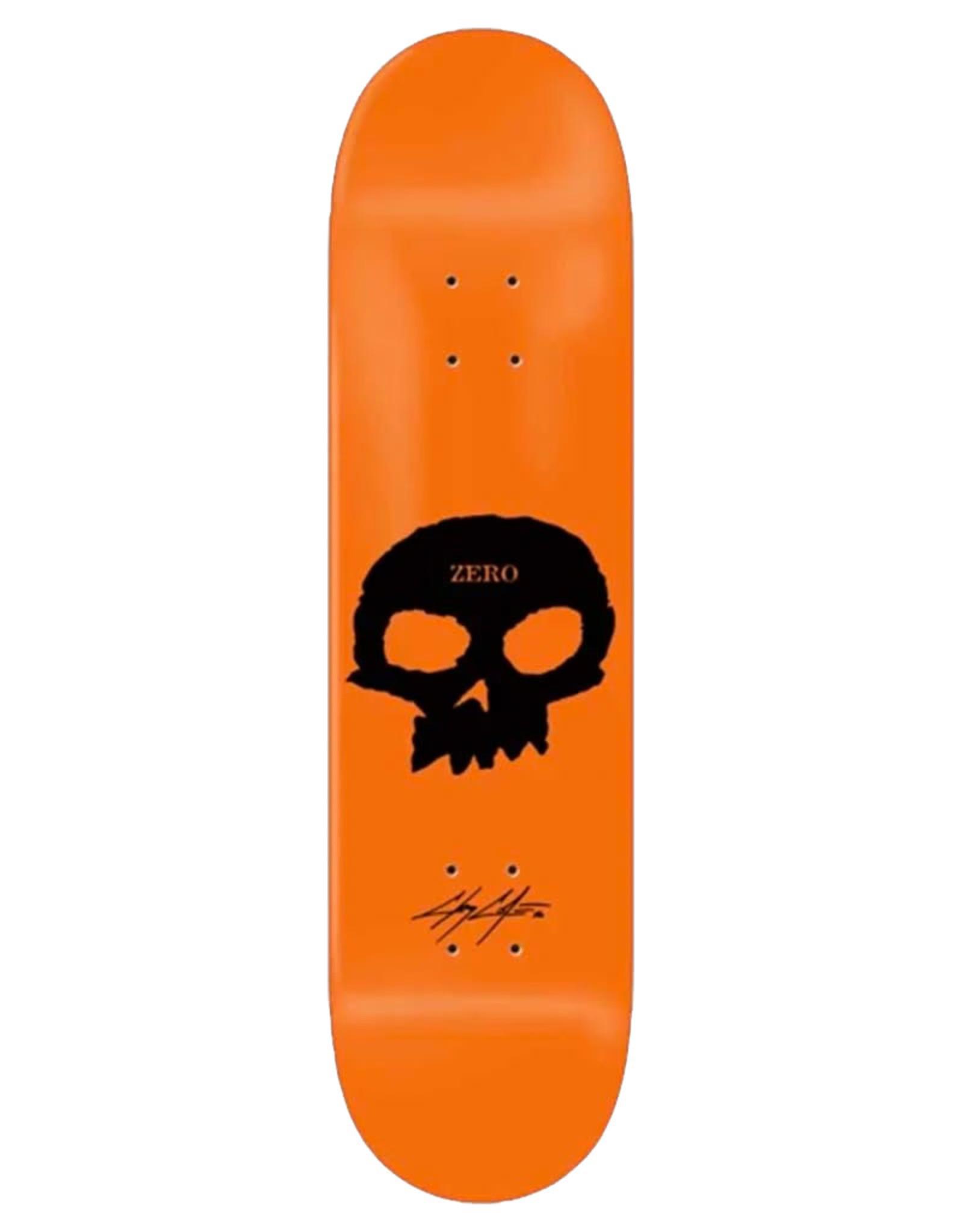 Zero Skateboards Zero Deck Cole Skull Orange (8.5)