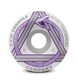 Acid Wheels Acid Wheels REM Serpent Side Cuts White (53mm/99a)