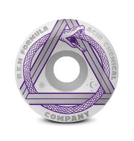 Acid Wheels Acid Wheels REM Serpent Side Cuts White (54mm/99a)