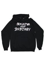 Thrasher Thrasher Hood Mens Sk8 And Destroy (Black)
