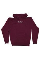 Butter Goods Butter Goods Hood Classic Logo Pullover (Burgundy)