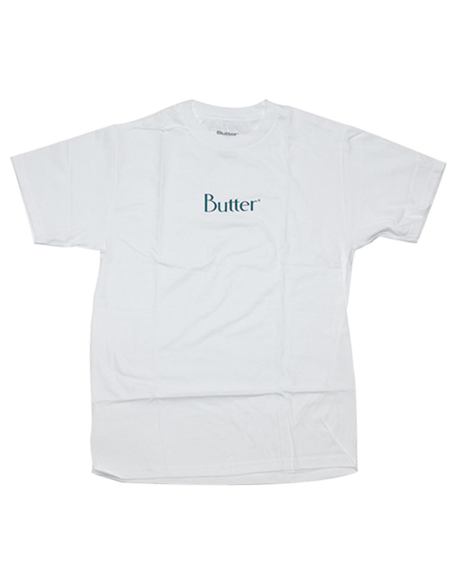 Butter Goods Butter Goods Tee Classic Logo S/S (White)