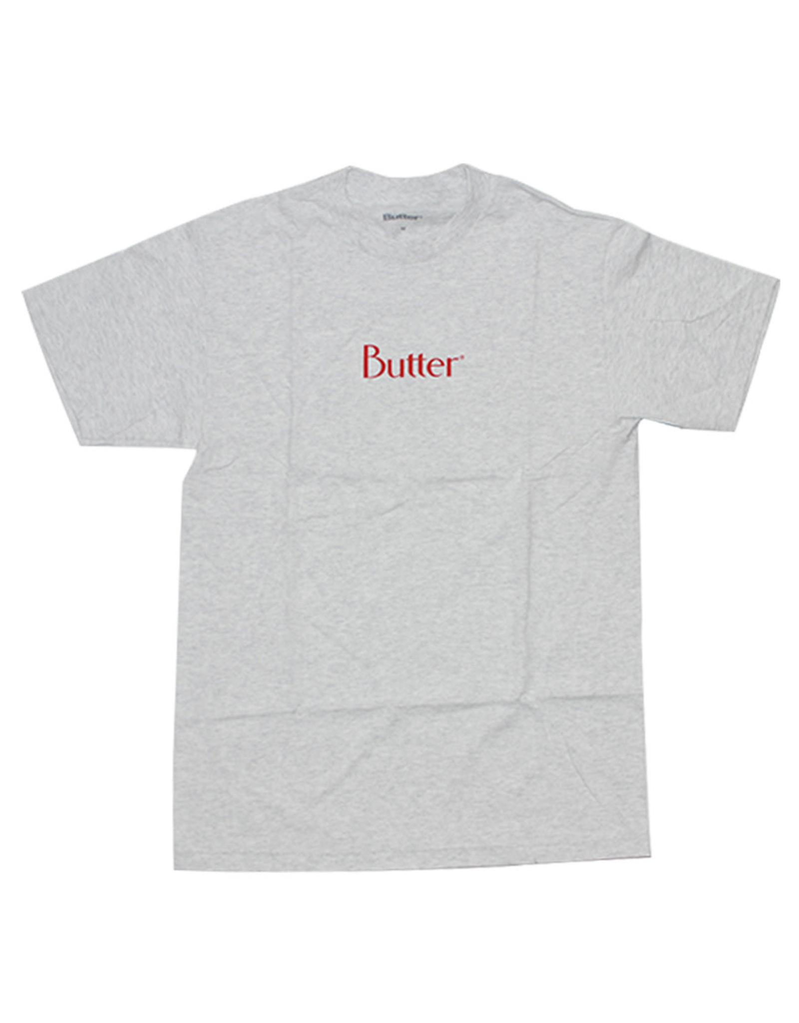 Butter Goods Butter Goods Tee Classic Logo S/S (Ash Grey)