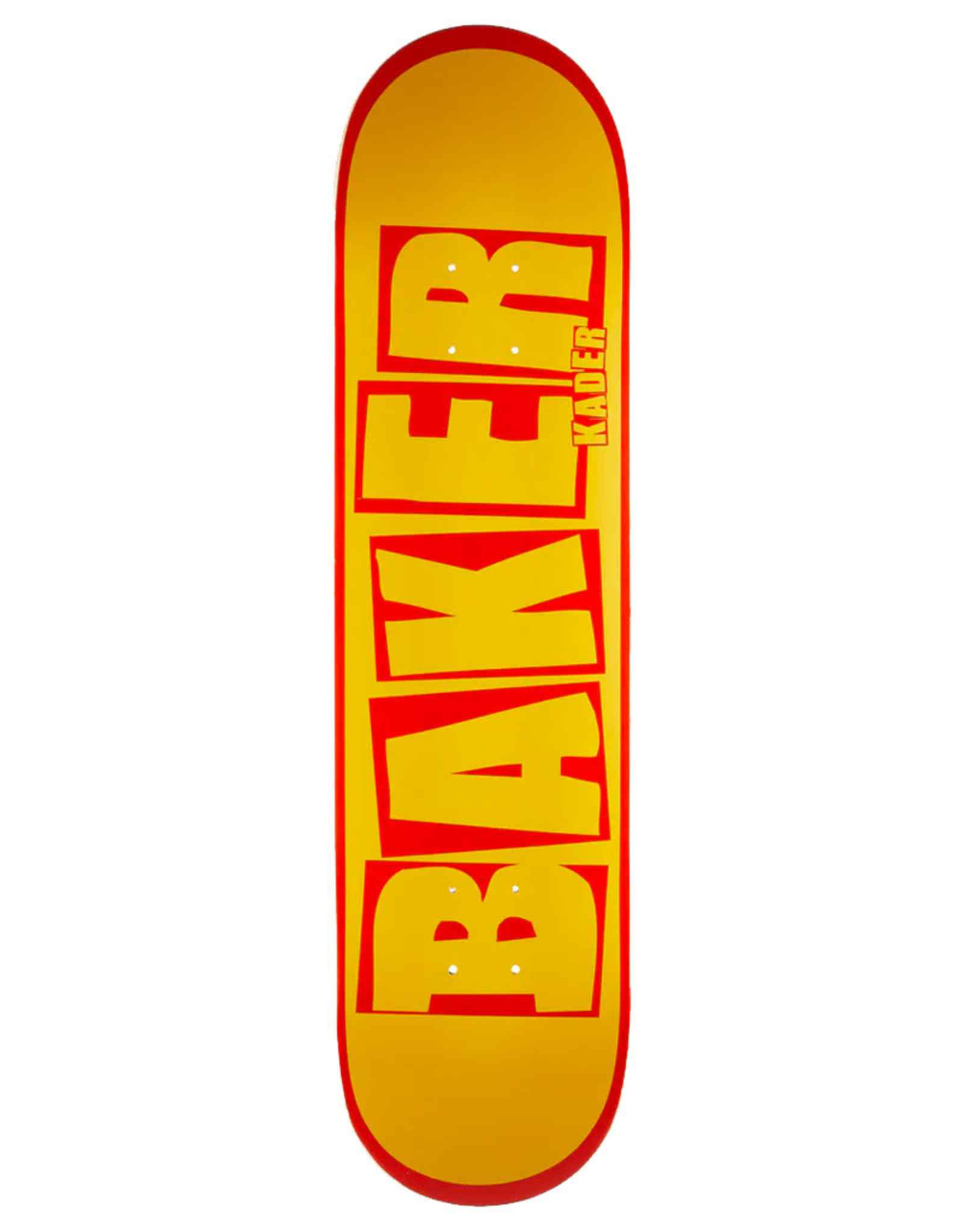 Baker Baker Deck Kader Sylla Brand Name Yellow/Red (7.875)