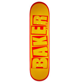 Deathwish Baker Deck Kader Sylla Brand Name Yellow/Red (7.875)