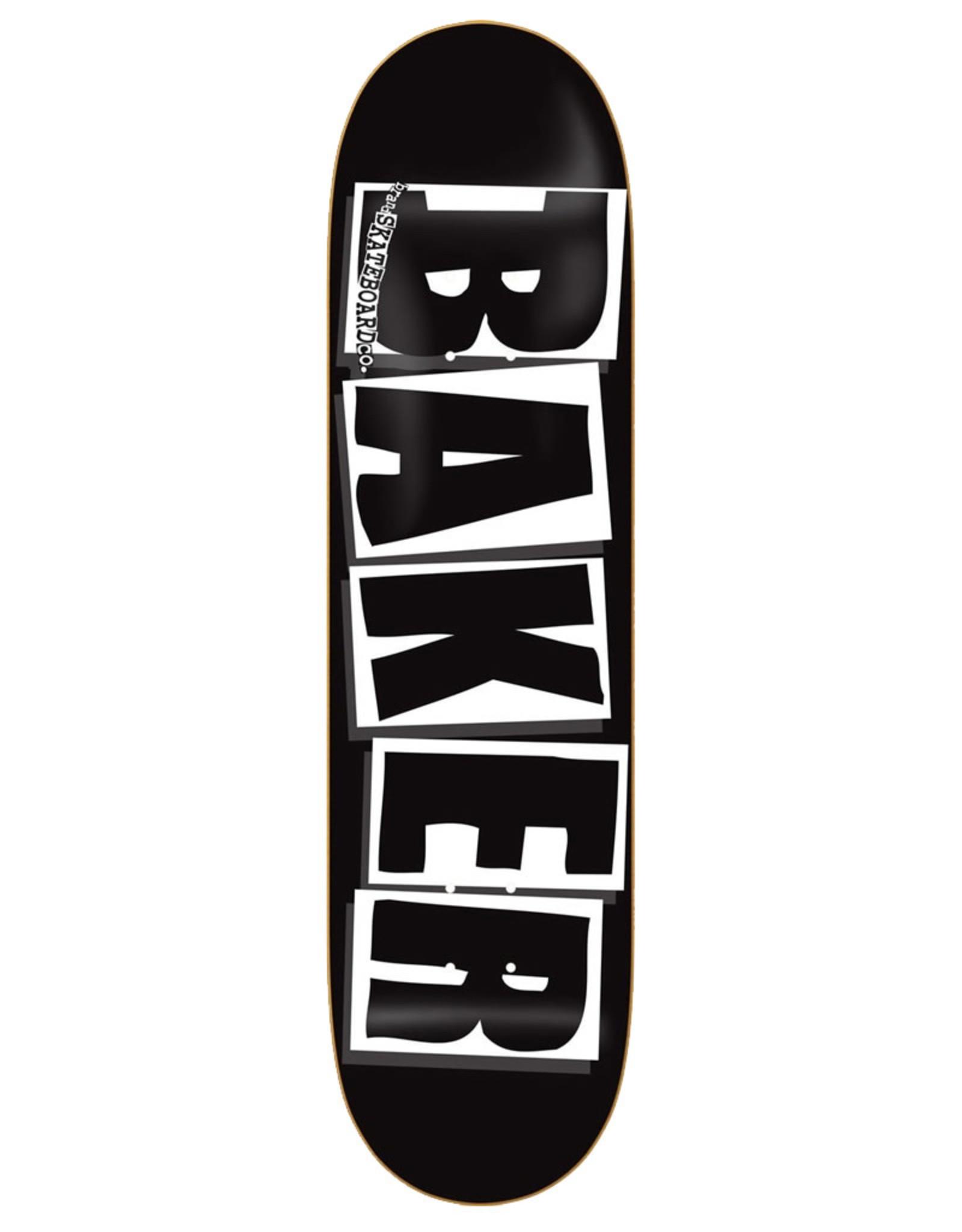 Baker Baker Deck Team Brand Logo Black/White/Black (8.125)