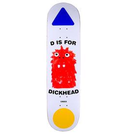 Quasi Skateboards Quasi Deck Dick Rizzo Dick (8.25)