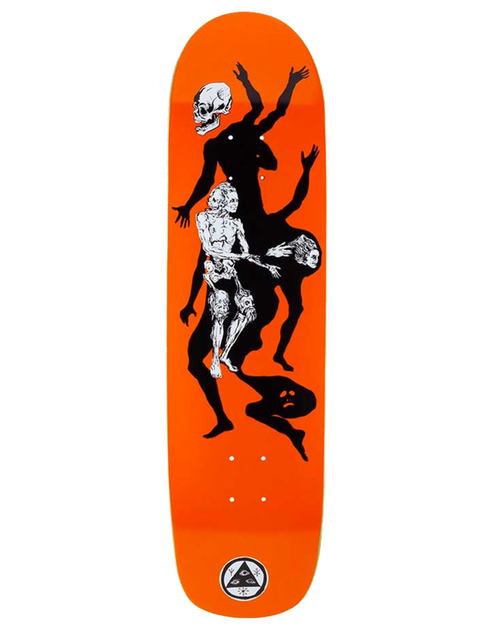 Welcome Welcome Deck Team The Magician On Son Of Planchette Orange (8.38)
