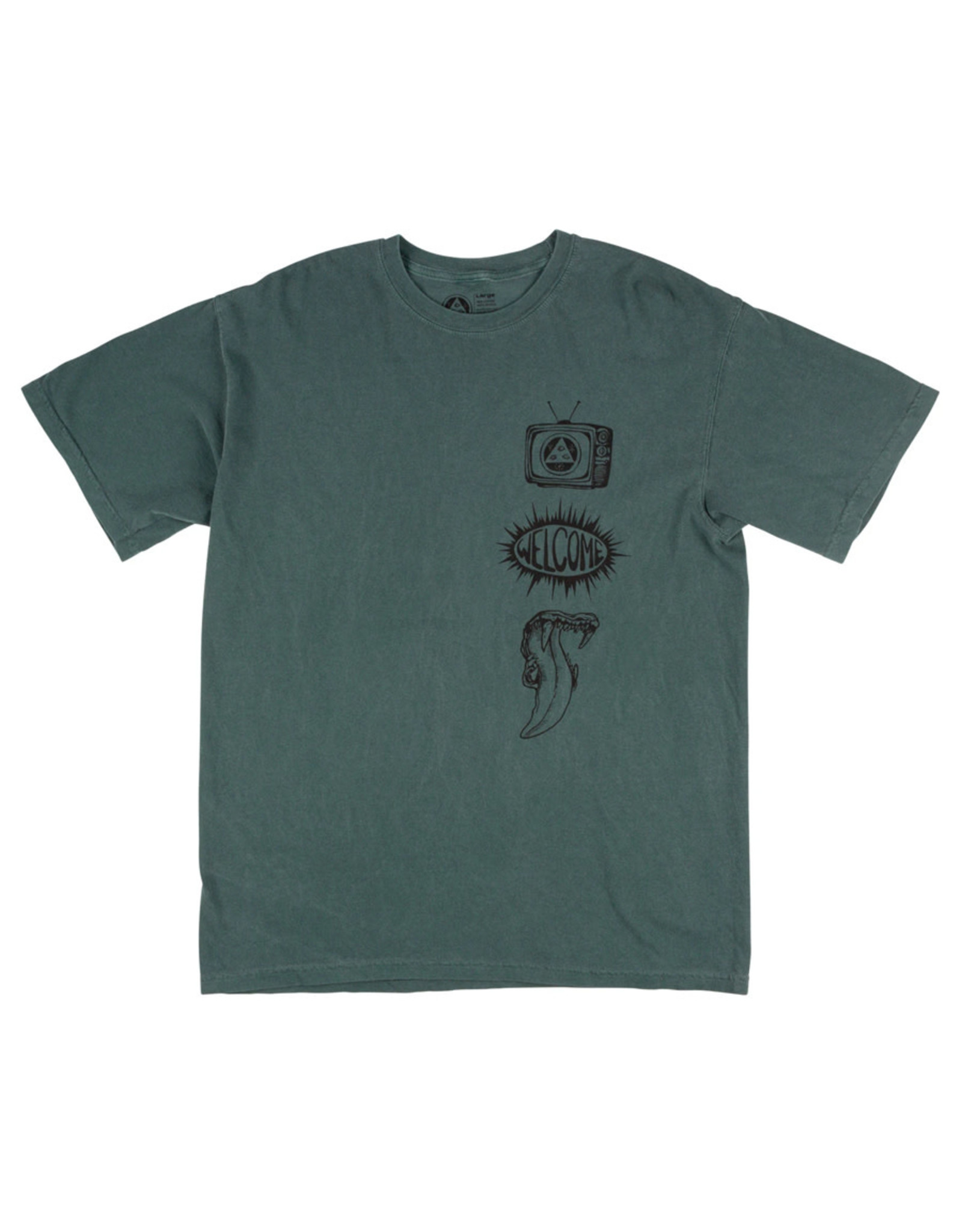 Welcome Welcome Tee Trey Garment-Dyed S/S (Spruce)