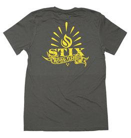 Stix Stix Tee Por Vida S/S (Army/Yellow)