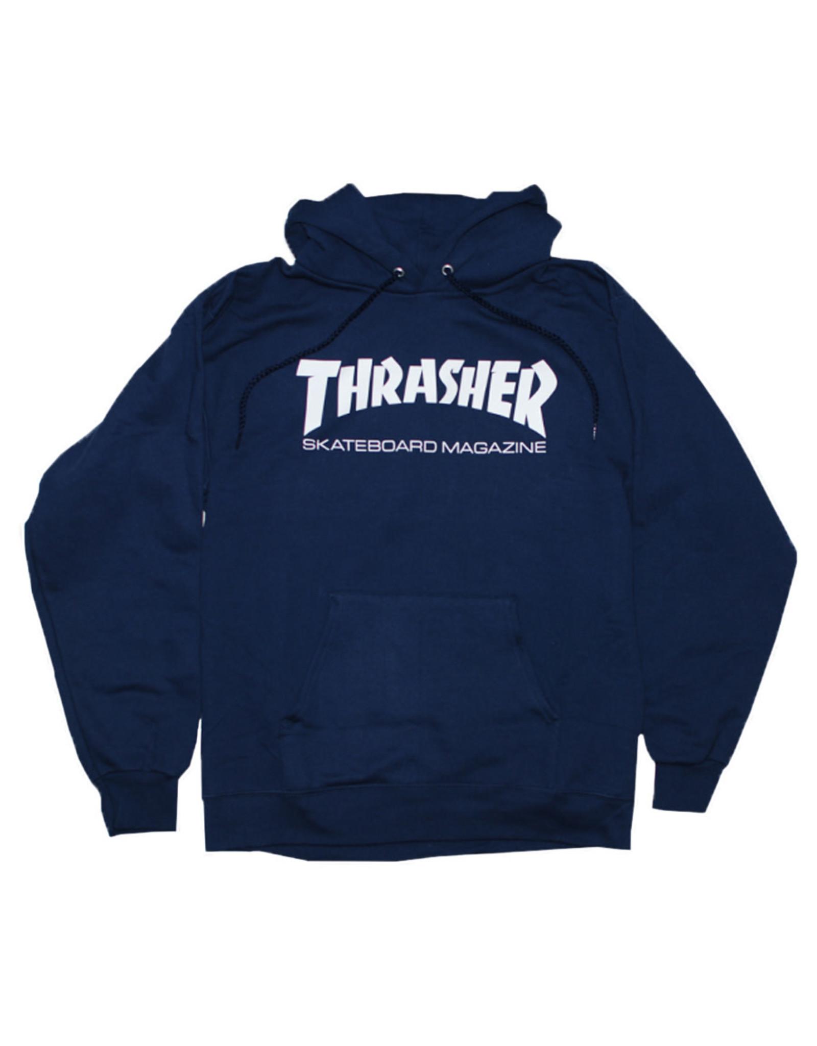Thrasher Thrasher Hood Mens Sk8 Mag (Navy Blue)