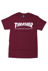 Thrasher Thrasher Tee Mens Sk8 Mag S/S (Maroon)