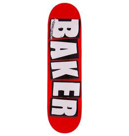 Baker Baker Deck Team Brand Logo Red/Black/White (8.5)