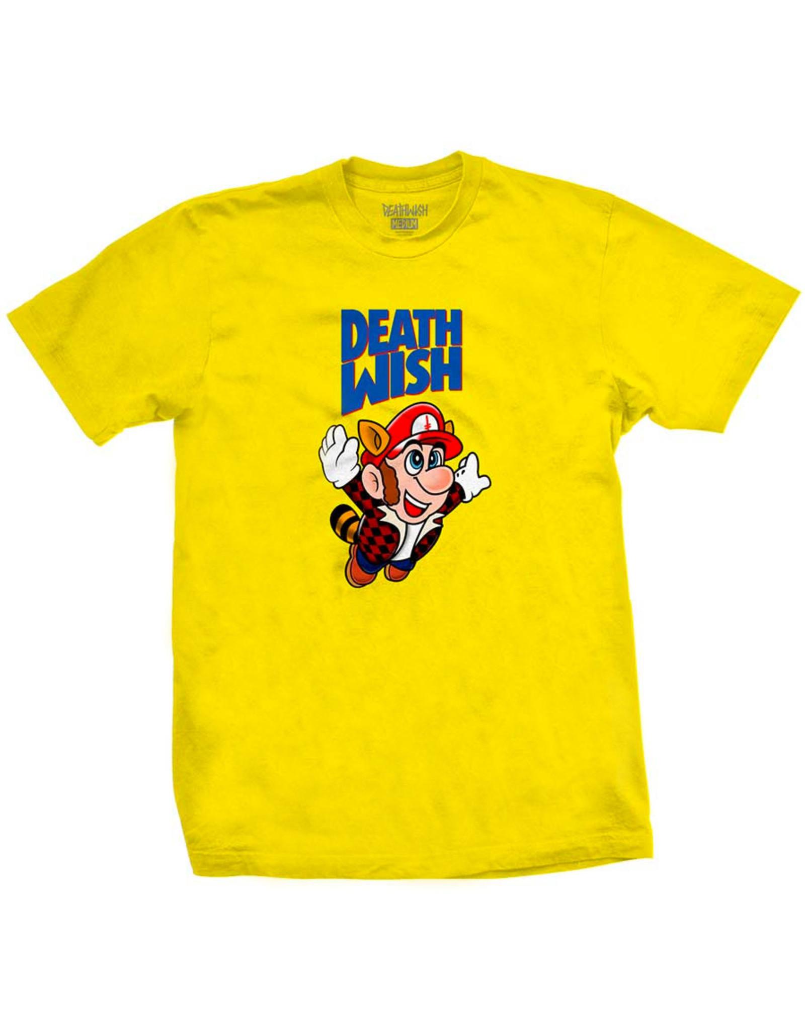 Deathwish Deathwish Tee Bros S/S (Yellow)