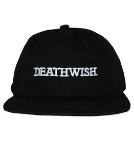 Deathwish Deathwish Hat Antidote Strapback (Black/White)