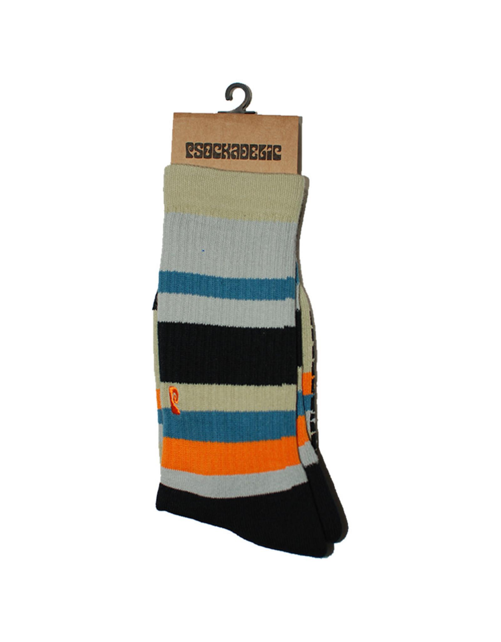 Psockadelic Psockadelic Socks Stripes Crew
