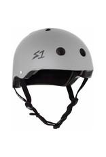 S-One S-One Helmet The Adult Lifer (Light Grey Matte/Black Straps)