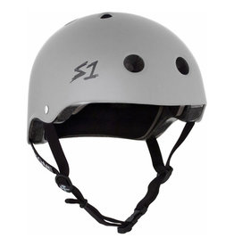 S-One S-One Helmet The Adult Lifer (Light Grey Matte/Black Straps)