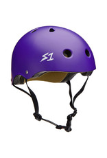 S-One S-One Helmet The Adult Lifer (Purple Matte/Black Straps)