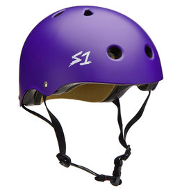 S-One S-One Helmet The Adult Lifer (Purple Matte/Black Straps)