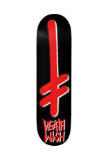 Deathwish Deathwish Deck Team Gang Logo Black/Red (7.3)