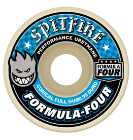 Spitfire Spitfire Wheels Formula Four Conical Full White (54mm/99d)
