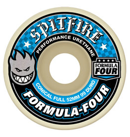 Spitfire Spitfire Wheels Formula Four Conical Full White (52mm/99d)