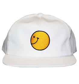 Talk Hardware Talk Hat Keep On Pushing Snapback (White)