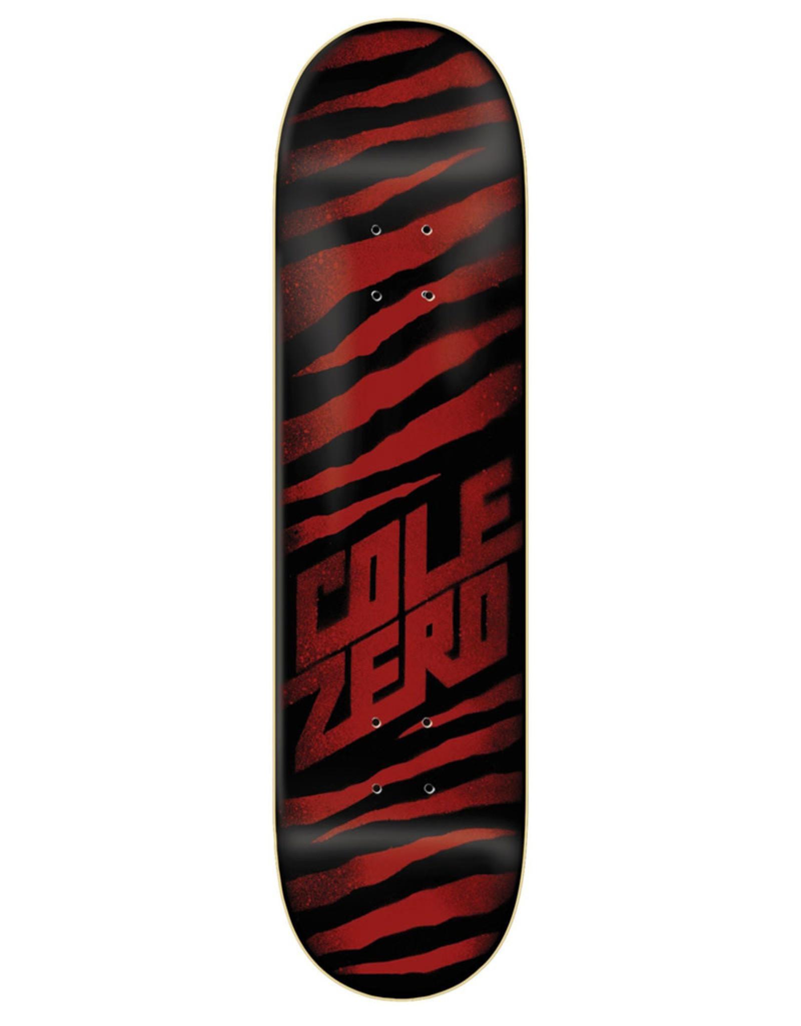 Zero Skateboards Zero Deck Chris Cole Ripper Oxblood (8.25)