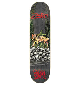 Zero Skateboards Zero Deck Gabriel Summers Tasmanian Tiger (8.25)