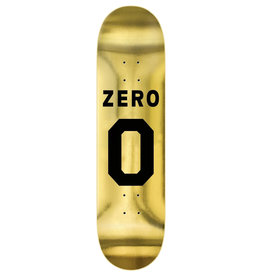 Zero Skateboards Zero Deck Team Numero Gold (8.375)