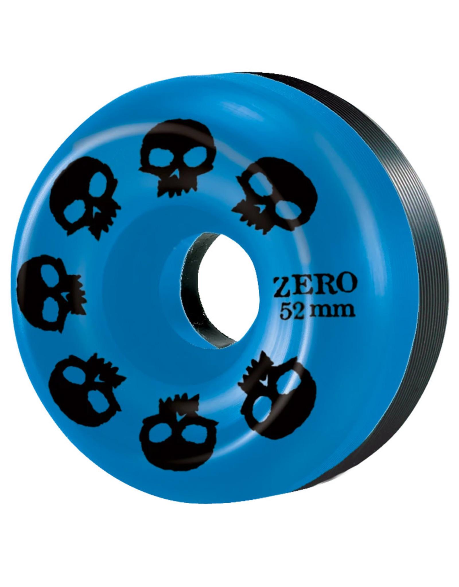 Zero Skateboards Zero Wheels Multi Skull Blue/Black Split (52mm/99a)