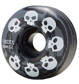 Zero Skateboards Zero Wheels Multi Skull Black/Grey Swirl (51mm/99a)