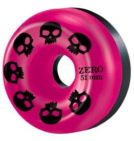 Zero Skateboards Zero Wheels Multi Skull Pink/Black Split (51mm/99a)