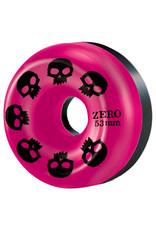 Zero Skateboards Zero Wheels Multi Skull Pink/Black Split (53mm/99a)
