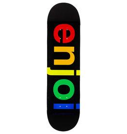 Enjoi Enjoi Deck Team Spectrum R7 Black (8.25)