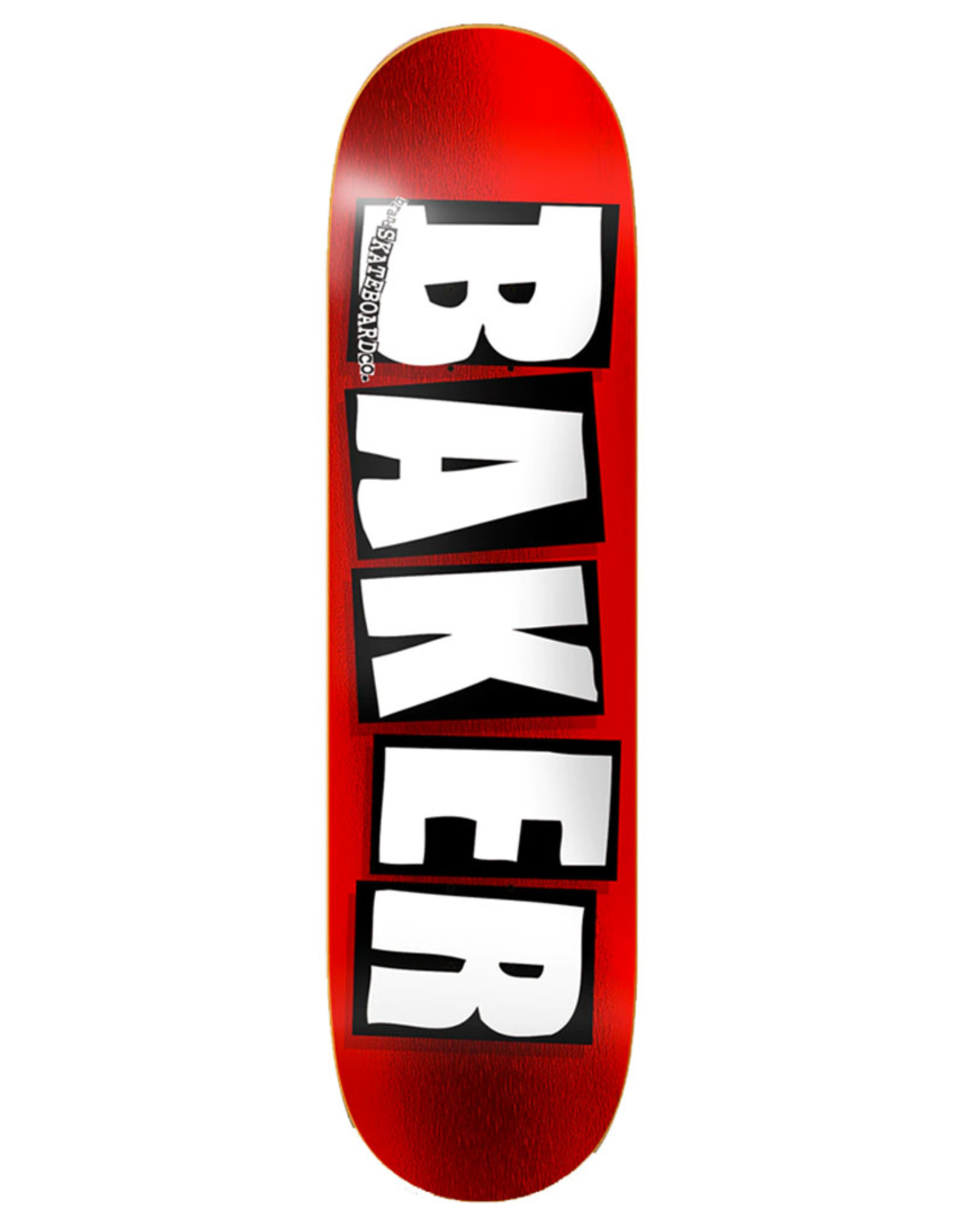 Baker Baker Deck Team Brand Logo Red Foil (8.5)