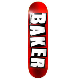 Baker Baker Deck Team Brand Logo Red Foil (8.5)