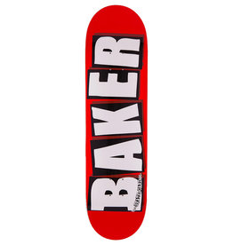 Baker Baker Deck Team Brand Logo Red/Black/White (8.125)