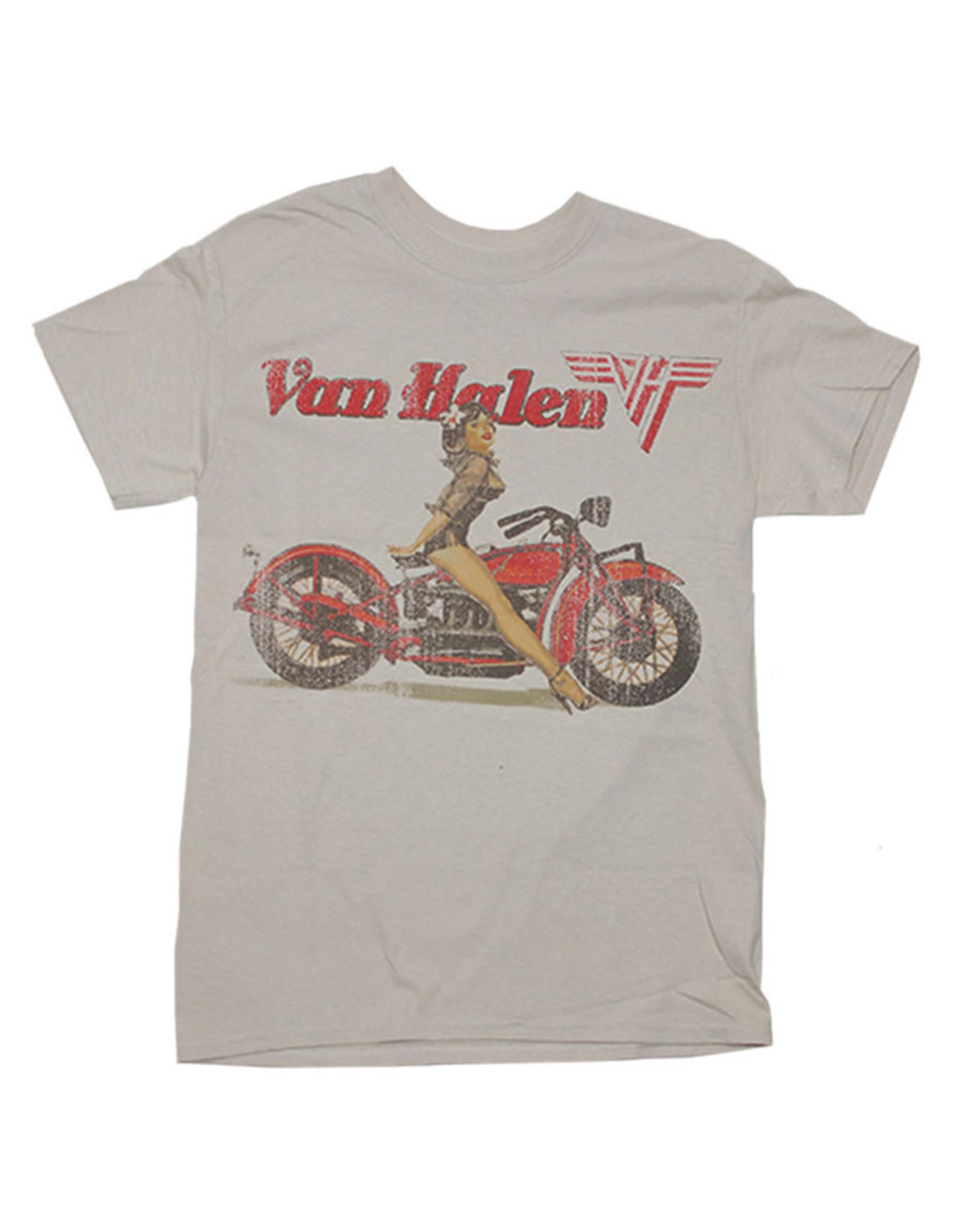 Star 500 Concert Series On Hollywood Tee Van Halen Biker S/S (Tan)