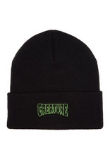 Creature Creature Beanie Logo Outline Long Shoreman (Black)