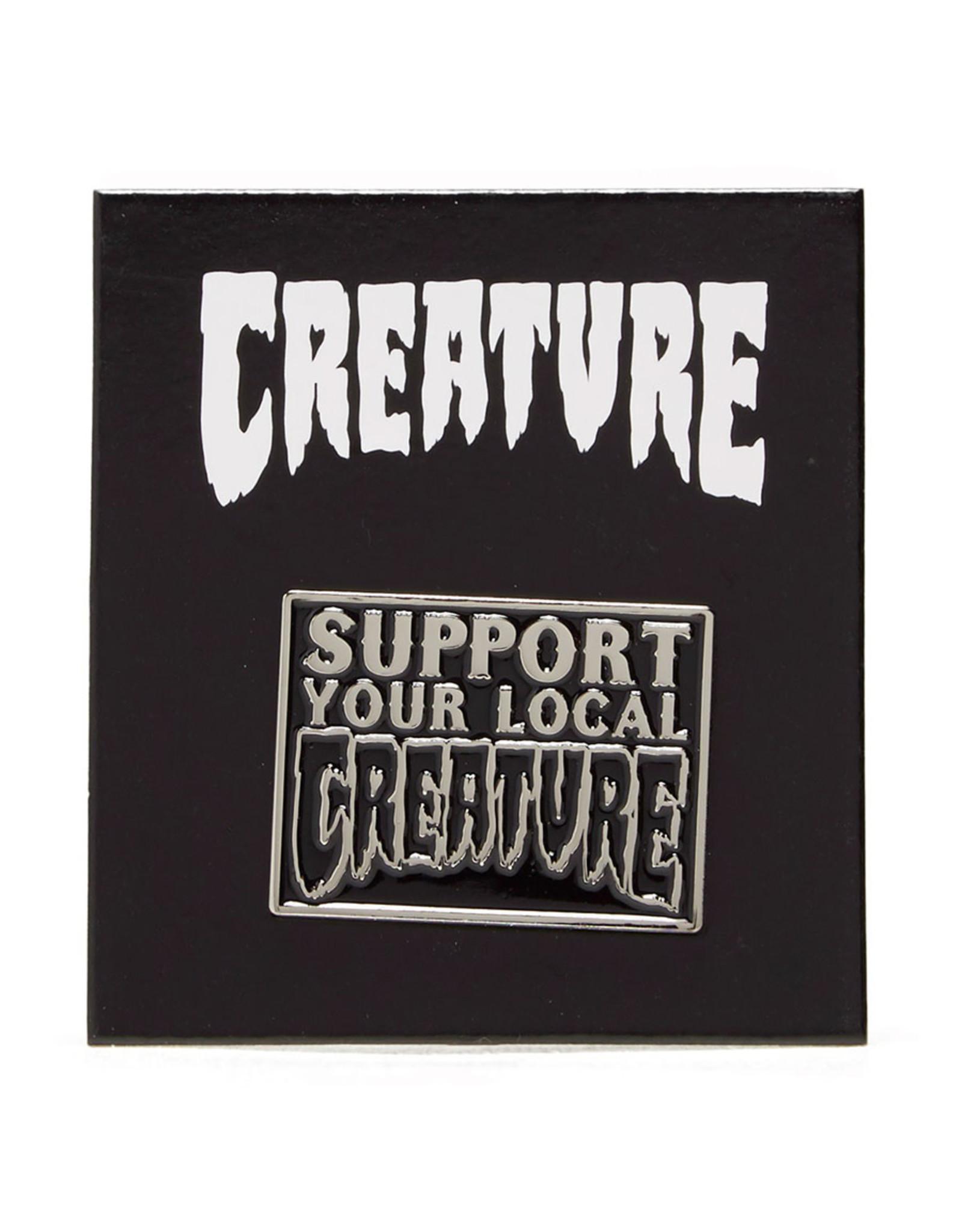 Creature Creature Pin Support Lapel (Black)