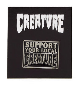 Creature Creature Pin Support Lapel (Black)