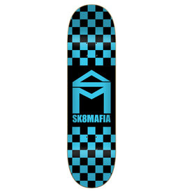 Sk8 Mafia Sk8 Mafia House Logo Checker Blue (8.25)