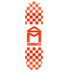 Sk8 Mafia Sk8 Mafia House Logo Checker Orange (8.0)