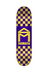 Sk8 Mafia Sk8 Mafia House Logo Checker Purple (8.1)