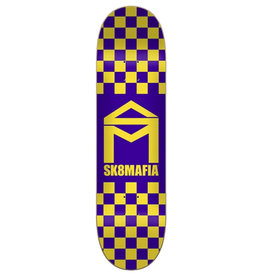 Sk8 Mafia Sk8 Mafia House Logo Checker Purple (8.1)