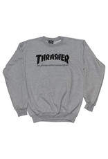 Thrasher Thrasher Crew Mens Sk8 Mag (Grey)