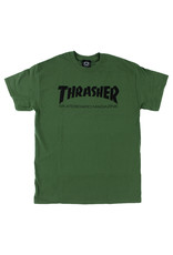 Thrasher Thrasher Tee Mens Sk8 Mag S/S (Army Green)